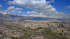 Tehran , View From Milad Tower (daniyal62) Tags: tower cityscape iran lg tehran nexus milad 5x