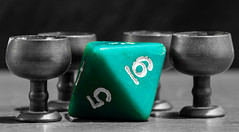 20160421_7799_7D2-100 Four, 5 and 6 (johnstewartnz) Tags: dice macro canon eos die 100mm goblets selectivecolor selectivecolour apsc oneofthesethingsisnotliketheothers oneofthesethings macromondays macromonday minigoblets oottinlto 100mmf28lmacro canonapsc