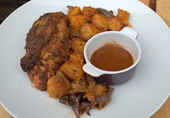Brewers Chicken with Smoky Potatoes, Sticky Red Onion Wedges & Ale Ketchup (Tony Worrall) Tags: uk england food chicken make menu yummy nice dish photos tag cook tasty plate eaten things images x meat chick made eat foodporn add meal taste dishes cooked tasted grub iatethis foodie flavour plated foodpictures ingrediants picturesoffood photograff foodophile ©2016tonyworrall
