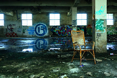 (Chillsea Lei) Tags: light chair ruins image taiwan graffito inverted  decadent   invertedimage ruinsphotography