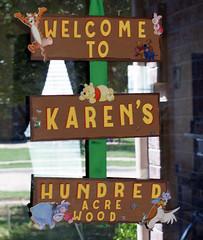 Karyn Door Plaque copy (Ceecii) Tags: birthday party pooh winnie