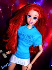 Ariella (FranBoy Monteiro) Tags: cute love ariel girl fashion model dolls princess barbie sirenita sereia thelittlemermaid disneydoll dollcollection lasirenita dollcollector apequenasereia