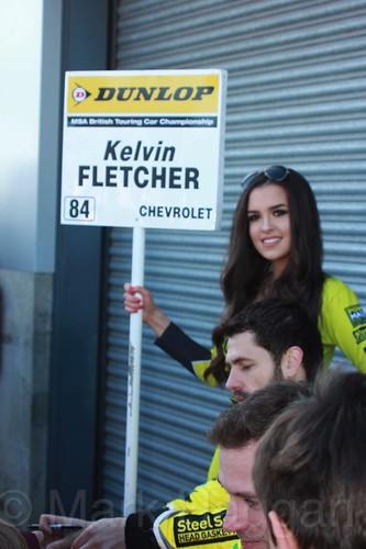 Kelvin Fletcher during the BTCC Donington Weekend, April 2016