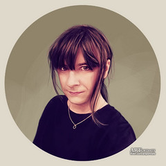 Calypsoderrida Portrait (Artportraitsphils) Tags: painting sketch drawing avatar digitalpainting handpainted thumbnail profilepicture customportraits fiverr