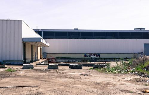 Ancienne usine Allibert, Grenoble (Isère, France)