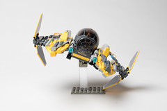 Lego_starwars_5609 (kyl080) Tags: star starwars mod lego space r2d2 anakin wars skywalker moc starfighter 7256 7669