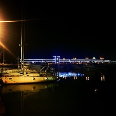 castiglionedellapescaia #porto #canale #pier #summer #estate... (paologuerri) Tags: italien bridge light sea summer italy holiday colors night landscape pier mare estate outdoor porto tuscany landschaft canale maar photooftheday castiglionedellapescaia brucke instaphoto instaday igersitaly uploaded:by=flickstagram igersphoto instagram:venuename=castiglionedellapescaiaportocanale instagram:venue=238142321 instamaremma instagram:photo=103718016299095234213287578