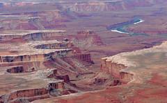 Canyons and Green River (Jay Costello) Tags: utah nationalpark ut canyonlandsnationalpark greenriver canyonlands moab canyons moabutah