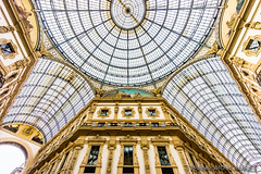 Galleria Vittorio Emanuele II - 1877 - Milan - Italy (Frank Smout) Tags: italy milan architecture gallery ii galleria 1877 emanuele vittorio galleriavittorioemanueleii