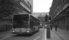 Manchester Victoria Station - Autumn 2015 [W361RJA] (barbirolli) Tags: city manchester first ilfordhp5 mercedesbenz hp5 ilford streetscape minox 400asa 340 minox35gt 35gt firstbus lc29 citaro ilfotec firstmanchester 35mmf28 ilfordilfoteclc29 60262 colorminotar filmdev colorminotar35mmf28 w361rja o530d httpfilmdevorgrecipeshow9968