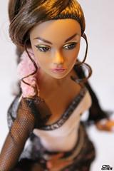 123/365- Old Photo - Aisha (Sidia09) Tags: dolls crown pinkdot dollportrait fashionroyalty flickr365 integritytoys barbieoutfit poppyparker irresistibleinindia sidiabijoux