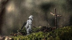 Goodbye  my  friend... (pixlilli) Tags: toys starwars stormtrooper hasbro toyphotography