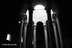 Baos rabes Girona (Ral Grijalbo) Tags: bw girona gerona baos arabs columnas arabes banys grijalbo