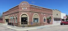 Storefront Block (Ashton, Nebraska) (courthouselover) Tags: nebraska ne ashton banks sandhills greatplains shermancounty polishcommunitiesintheunitedstates