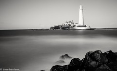 i am a rock (explored 25/4/16) (dave_harrison56) Tags: longexposure sea lighthouse seascapes stmarys hanks ndfilters canon24105 10stop verylongexposure canond70