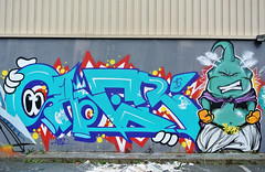 Yuze B-Day ft Kebi (SaNeR hVa KgB) Tags: terrain paris france art colors wall writing painting graffiti character fat tag letters can spot peinture squat writer lettering graff aerosol perso typo mur couleur bombe lettres kgb pcc wildstyle bande hva handstyle lettrage saner kebi ptdq