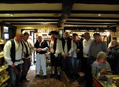 Celebrating St George's Day (oh.suzannah) Tags: village pirates traditional group singers entertainers countryman