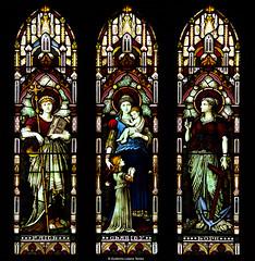 Faith, Charity, Hope (wuploteg1) Tags: charity ireland church glass abbey hope faith gothic iglesia stained connemara fe vidriera esperanza irlanda f abada eyre kylemore caridad abadia gotica abada
