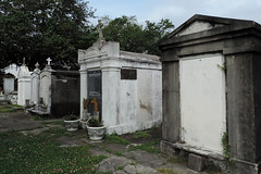 New Orleans - Cold Chambers (Drriss & Marrionn) Tags: usa cemetery grave graveyard concrete outdoor neworleans headstone tomb graves funeral mausoleum granite sarcophagus burial marble tombs lafayettecemetery deceased gravefield vaults crypts neworleansla