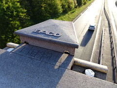 7/8/94 (stevenbrandist) Tags: road morning bridge commute commuting a46 wanlip sonyhx90