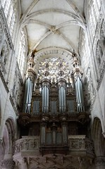 Orgue de Notre-Dame - Caudebec-en-Caux (francis_erevan) Tags: church organ eglise clavier orgue tuyaux pdalier