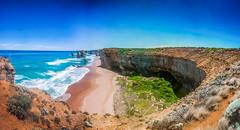 The walk coast line (Pen Photo) Tags: ocean road coast great australia melbourne line twelve apostles