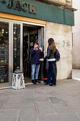 Lunch time at the Black-Jack Bar (timabbott) Tags: street venice black bar jack drink cigarette lunchtime venezia