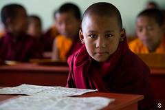 'Spirituality' (subodh shetty) Tags: travel nepal portrait people white kids photography nikon shrine peace buddhist prayer religion culture documentary vivid traditions places roadtrip tibet monastery journey monks nikkor katmandu 70200 tibetian shetty gompa subodh d4s mynikkor