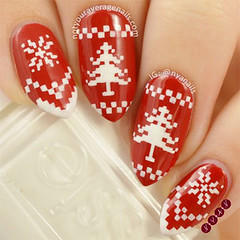 15 suter de invierno Diseos Nail Art, Ideas & Stickers 2016 | Winter Nails (parfaitfrancais) Tags: winter nail stickers nails invierno ideas diseos 2016 suter