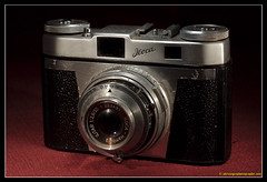 ILOCA QUICK B. 1 (adriangeephotography) Tags: camera classic film leather vintage lens photography antique rangefinder collection chrome adrian accessories meter gee collectable micronikkor55mmf28 fujis5pro adriangeephotography