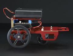 Mini Robot Rover Chassis Kit - 2WD with DC Motors (adafruit) Tags: car rover robots kits vehicle projects robotics cnc 2939 adafruit