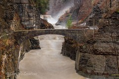 Letchworth State Park, Lower Falls (Christy Hibsch ( Christy's Creations on Facebook )) Tags: statepark newyork letchworth gorge lowerfalls geneseeriver wny letchworthstpk