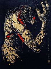 2 - 49me Salon des Arts dAlfortville Zang Hongyu, Catadioptre n 165, Mdia mixte (melina1965) Tags: nikon ledefrance january peinture janvier paainting valdemarne 2016 alfortville d80