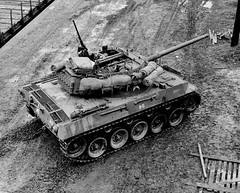 A beautiful top shot of an M18 Hellcat.