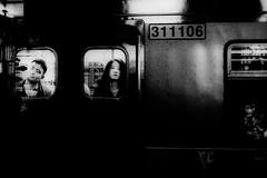 ((Jt)) Tags: blackandwhite monochrome underground subway blog asia metro streetphotography korea seoul fujifilm travelphotography jtinseoul fujifilmx100t