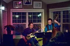 Mike Francis & Howard Baer @ The Garden Of Eatin (Jeannot7) Tags: music ontario bass guitar jazz warkworth reastaurant mikefrancis howardbaer thegardenofeatin
