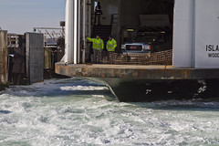 Ferry Docking (brucetopher) Tags: ocean sea home water ferry island boat dock ship landing marthasvineyard arrival falmouth ferryboat docking