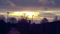 Dusk (gemmasmith665) Tags: city winter sunset sky sun nature skyline night clouds skyscape evening cathedral dusk
