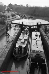 the 3 Locks (Wayne Stiller) Tags: 3 water boat canal pub gate lock path locks waterway
