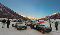 Good Morning Serre Chevalier (NaPCo74) Tags: mountain snow ice cup race montagne track racing h bmw sur hours neige 12 endurance chevalier circuit 325 ti 318 glace e36 serre 316 heures
