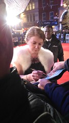 Felicity Montagu at the Premiere of Dad's Army at Odeon Leicester Square (Julie Ramsden) Tags: leicestersquare premiere odeon dadsarmy felicitymontagu