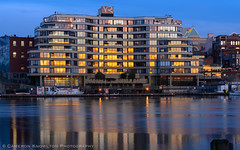 DSC_6460.jpg (Cameron Knowlton) Tags: ocean sunset seascape canada reflection water reflections landscape harbor landscapes nikon long exposure bc seascapes harbour dusk sunsets victoria inner innerharbor innerharbour d610
