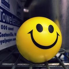 Say cheese. (Joseph Skompski) Tags: smile yellow pennsylvania hershey emoticon emote smilieface hersheypa matchpointwinner mpt496