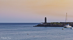 Bahia Arrecife (Nicolas Ferrer) Tags: colors landscape eos sigma lanzarote paisaje canaryislands islascanarias arrecife sigmalenses sigma1770mm canoneos60d eos60d