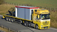 YH65 UGU (panmanstan) Tags: truck wagon mercedes yorkshire transport lorry commercial vehicle freight mp4 haulage hgv southcave actros a63
