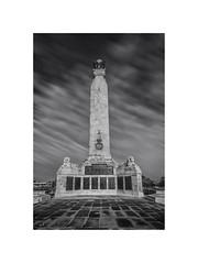 Plymouth Naval War Memorial (silver/halide) Tags: longexposure blackandwhite bw monochrome mono memorial navy plymouth devon le d750 warmemorial honour plymouthhoe royalnavy thehoe johnbaker plymouthwarmemorial