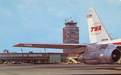 Columbus Airport, Ohio (SwellMap) Tags: architecture plane vintage advertising design pc airport 60s fifties aviation postcard jet suburbia style kitsch retro nostalgia chrome americana 50s roadside googie populuxe sixties babyboomer consumer coldwar midcentury spaceage jetset jetage atomicage