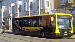 BF60UVF Blackpool Transport 533 at the Coliseum bus stop on Lytham Road, Blackpool (j.a.sanderson) Tags: bus buses volvo transport centro blackpool 533 plaxton b7rle bf60uvs