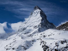 Mighty Matterhorn (Mikko Salonen) Tags: mountain snow switzerland zermatt matterhorn cervino mountainridge