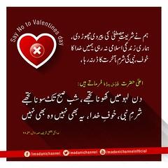 Say No Valentines Day (DawateIslami) Tags: day no muslim islam ala valentines khan muslims ahmad mustafa say allah islami muhammad nabi imam darna sunni raza hazrat 2016 hadith momin sharam akhirat hadees khuda faizanemadina dawateislami aqeedah khof khofekhuda 2k16 aqaaid sariyat
